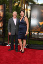 Neal mcdonough wife arriving at the soloist premiere at paramount studios in los angeles california on april Stock Photography