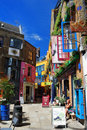 Neal's Yard in Covent Garden Stock Photography