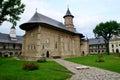 Travel to Romania: Neamt Monastery -Inner cloister Royalty Free Stock Photo