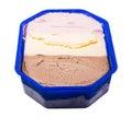 Neapolitan Ice Cream Royalty Free Stock Photo