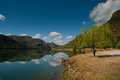 Near douro river magnificent landscape with and mountains Stock Photos