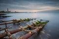 Near fishing village Royalty Free Stock Photo
