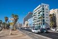 Near the sea road in Tel Aviv Royalty Free Stock Photo
