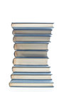 Neatly stacked books a tower of Royalty Free Stock Images