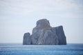 Nebida west coast of sardinia italy Royalty Free Stock Images