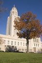 Nebraska - State Capitol Royalty Free Stock Photos