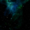 Nebula sky Royalty Free Stock Images