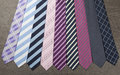 Neck ties group of colorful male Royalty Free Stock Photo