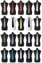Neckties collection | Isolated Royalty Free Stock Photo
