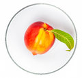 Nectarine fruit Stock Photos