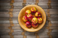 Nectarine Nectarines Bowl Fruit Royalty Free Stock Photos