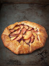 Nectarine Tart Royalty Free Stock Photo