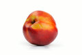 Nectarine on a white background Royalty Free Stock Photo