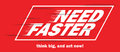 Need faster icon logo vector illustration Royalty Free Stock Image