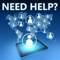 Need Help Royalty Free Stock Photo