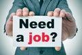 Need a job? Royalty Free Stock Photo