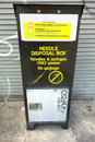 Needle Disposal Box Royalty Free Stock Photo
