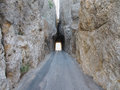 The Needles Tunnel Royalty Free Stock Photo