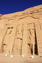 Nefertari temple abu simbel nubia egypt Royalty Free Stock Photography
