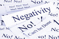 Negativity Concept Royalty Free Stock Photo