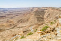 Negev desert in the early spring, Israel Royalty Free Stock Photo
