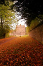 Neidpath Castle, Peebles Royalty Free Stock Photo