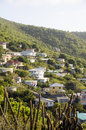 Neighborhood  mountain bequia st. vincent Stock Images