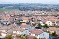 Neighborhood Roof Tops View Royalty Free Stock Photo