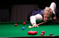 Neil robertson plays friendly tournament in bucharest australian professional snooker player currently world no against mark selby Royalty Free Stock Images
