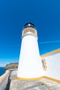 Neist point lighthouse at the isle of skye scotland Royalty Free Stock Image
