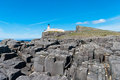 Neist point lighthouse at the isle of skye scotland Royalty Free Stock Photography