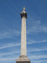 Nelson Column London Royalty Free Stock Photo