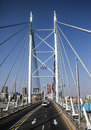 Nelson mandela bridge in johannesburg Royalty Free Stock Photography