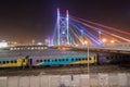 Nelson Mandela Bridge - Johannesburg, South Africa Royalty Free Stock Photo