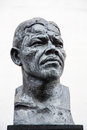 Nelson mandela statue london uk nov bronze south bank london uk on november in london uk Royalty Free Stock Images