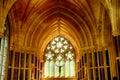 Neo-gothic church, Kylemore, Ireland Royalty Free Stock Photo