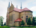 Neo-Gothic Saint Anne Church Stock Photo