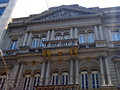 Neoclassical building in the old downtown of são paulo brazil Royalty Free Stock Images