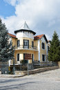 Neoclassical house in kastoria greece Stock Image