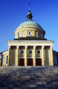 Neoclassical parish church in poznan Stock Images