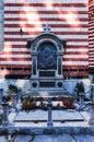 Neofit Rilski gravestone, Rila Monastery