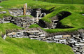 Neolithic Dwelling Skara Brae Royalty Free Stock Photo