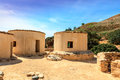 The Neolithic settlement of Choirokoitia in Cyprus. Royalty Free Stock Photo