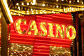 Neon Casino Sign Royalty Free Stock Photos