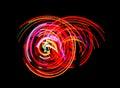 Neon dance lights Royalty Free Stock Photo