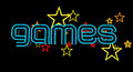 Neon Games Sign