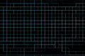 Neon grid on black background Royalty Free Stock Photo