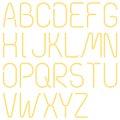 Neon Letters, Alphabet