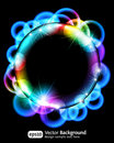 Neon light gragient effect background Royalty Free Stock Photo