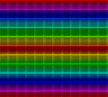 Neon Mosaic Tile Background Royalty Free Stock Photography
